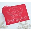 Vintage Glam Holiday Party Printable Invitation - Elegant Red